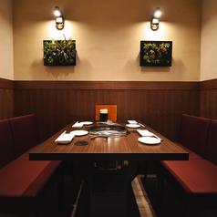 寛ぎの個室はデートや接待に◎2~4名の個室多数