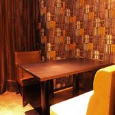 オシャレで雰囲気抜群!2名様ソファ個室!シーンに合わせた様々な個室があります♪