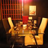 女子会や合コンにおすすめの個室テーブル席