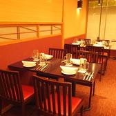 4名席のなります。ご宴会、お食事、記念日など各種ご宴会に対応しております。