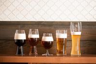 ビールのタイプに合わせた専用グラス