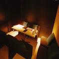 【個室1】ソファー席 4名【個室2】椅子タイプ 6名