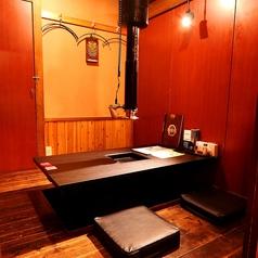 ゆっくりお寛ぎいただける個室をご用意。気兼ねなく焼肉をお愉しみください。