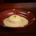 料理メニュー写真大根おでんあさりのカルボナーラソース