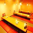 最大30名様まで収容できるお座席は、宴会等にぴったりの広い空間となっております♪歓送迎会にオススメです☆