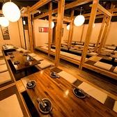 個室和食居酒屋 京乃月 きょうのつき 新横浜店の雰囲気3