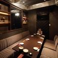【3F:完全個室】人気のお部屋。宴会のご予約も随時承っておりますので、どうぞお気軽にお問い合わせ下さいませ。大人数での宴会をご希望の場合は、お早めのご予約をおすすめしております!飲み放題付コースはクーポン利用3500円・4000円・5000円とご用意しております。