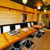 2~16名様/テーブル席 少人数の宴会に。カフェ風のインテリアも印象◎!気軽にお使いいただけるイス×テーブル席は16名様までご利用いただけます。