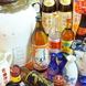 豊富な酒類のあるアルコールの数々!!
