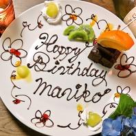 メッセージプレートで誕生日やお祝い事を演出♪