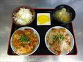料理メニュー写真食べ比べ豚丼