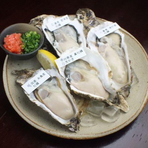 食べ飲み放題コース☆生、焼、蒸しの牡蠣もりだくさん全10種以上!