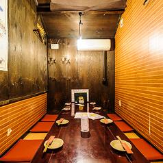 落ち着いた座敷個室でご宴会♪最大10名様!ご予約がおすすめ!