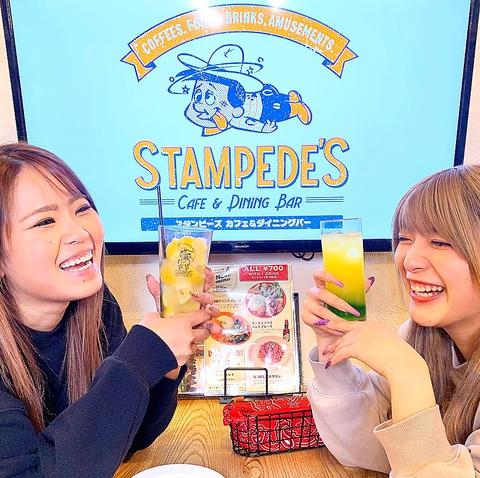 """""""Stampede's Cafe&Dining Bar スタンピーズ カフェ&ダイニングバー"""""""