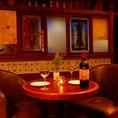 ◆テーブル席◆本場スペインの雰囲気を再現した店内のテーブル席です。秋葉原でのデート・誕生日会・女子会など、少人数~大人数の宴会まで様々なシーンにご利用頂けます。【秋葉原 個室 飲み放題 貸切 デート 誕生日 食べ放題】