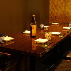 【会社宴会・お食事会に】2名様~個室のご用意可能です。プライベートを守れる最適な個室です。銀座通りにございますので集合解散に便利な立地。お客様のニーズに合わせた多彩な完全個室がございます。ご予約はお早めがオススメです。