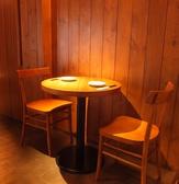 2名様用のサークルテーブル★デートでもサシ飲みでも◎テーブルを