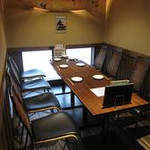 最大8名様のテーブル個室!ちょっとしたお集りにもぴったり!