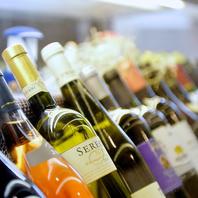 料理に合うソムリエ厳選の各種ワイン