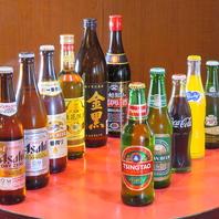 台湾ビールを始め、種類豊富なお酒が楽しめる♪
