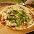 料理メニュー写真てりやきピザ