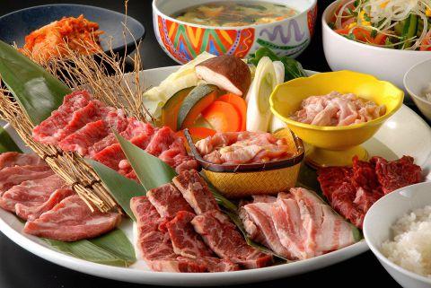 <170品>90分食べ放題 【焼肉+料理70種食べ放題コース】