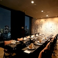夜景を一望!極上の空間とお料理を味わってください。接待や記念日にどうぞ