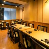 3階には、38~50名様まで収容可能な大宴会場を完備。フロア貸切で、周囲を気にせず、お仲間同士でプライベートなご宴会をお楽しみいただけます。企業様での各種ご宴会やパーティーに是非ご利用ください。