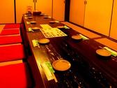 6名~8名様用の完全個室(座敷)