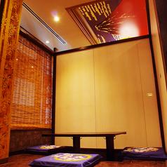 天井に赤富士が見える人気の個室です。落ち着いた会食から宴会まで使い勝手抜群です!!
