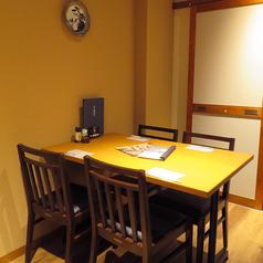 【4名様席】ゆったりくつろげる人気の掘りごたつ個室!