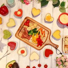 全10種類の生チーズフォンデュ