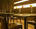 ディナーは落ち着いた空間でのお食事を。