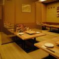 酔虎伝 阪急東通り店は総席数220席!大型宴会にぴったり◎