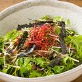 料理メニュー写真八品目の香草サラダ