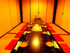 8名~10名様用の完全個室(座敷)