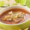 料理メニュー写真オニオンスープ