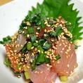 ≪ちょっとおつまみ…定番メニュー≫大分名物のりゅうきゅうは新鮮な魚を特製タレに漬け込んだ逸品。大分に来たらこれは外せません。
