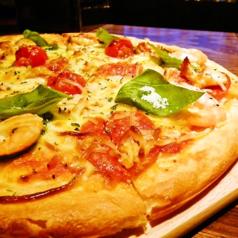 ナポリ風ピックスピザ(ハーフサイズ)