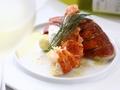 料理メニュー写真ロブスターの雲丹クリーム焼き