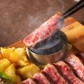 料理メニュー写真熟成肉 牛ステーキ100g