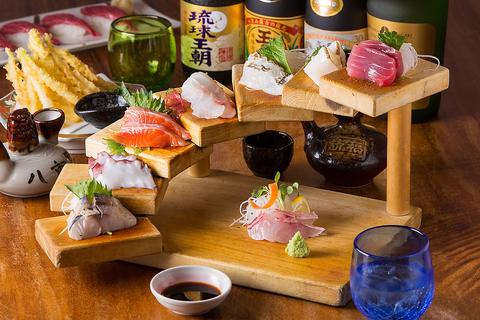 料理に驚きと美味しさをお届け★新鮮な魚介類をお楽しみください!