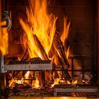 こだわりの地元食材を薪火グリルで仕上げる