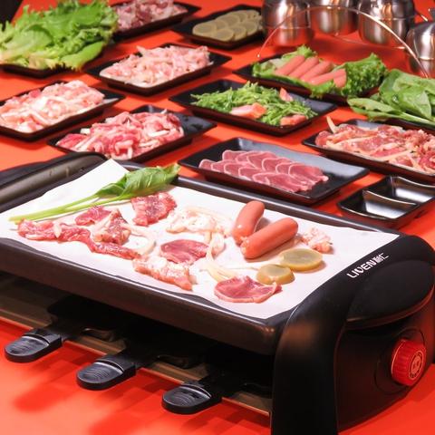 日本初登場!!!中華式鉄板焼♪食事から宴会まで幅広く対応できる豊富なメニュー◎