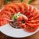 料理メニュー写真ひんやりトマトスライス