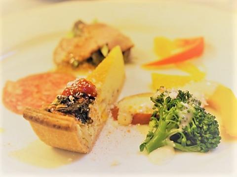 【期間限定!】★魚&肉 Wメインディッシュ ★<全8品!3皿仕立てのコーススタイル>