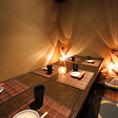 部屋をつなぎ大きなお席をご用意いたします★八王子駅周辺の充実した飲み放題付きコースの居酒屋をお探しでしたら是非、八王子個室居酒屋 葵酒をご利用ください★