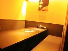 個室のお席なので、周りを気にせずお食事が楽しまます。