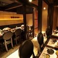 気の合う仲間と居心地良く寛げる個室で赤坂 、溜池山王の個室居酒屋でご宴会、接待 、飲み放題 、和食を。