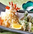 料理メニュー写真おまかせ天ぷら盛り合わせ
